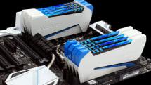 通電で稲妻が走るプラズマ管つきOCメモリ Raiden Series 発売。ロゴは『雷電』そのまま