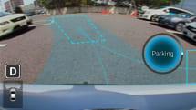スマホから遠隔操作で自動駐車するシステムが発表。日立の車両制御技術とクラリオンの周辺監視技術が連携