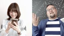 Galaxy Note8のある生活:Sペンのある池澤あやかさん、Sペンのない津田