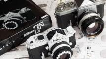 名機Nikon Fのナノブロック版をニコン派のプロカメラマンが本気でつくってみたらカッコ良すぎた