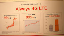 au VoLTE、対応2モデルは国内3Gは利用できず。国内はLTE通信のみ、海外はLTE/UMTS/GSM(更新)