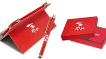 ジャストシステム、一太郎30周年記念Windows タブレット発表。赤い筐体に一太郎ロゴ、500台限定