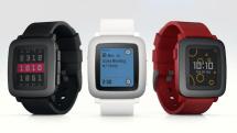 カラーで一週間駆動のPebble Timeスマートウォッチ発表。新 timeline 表示採用