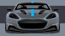 アストンマーチン初のEV量産車RapidE、2019年生産を発表。155台限定、ウィリアムズが共同開発
