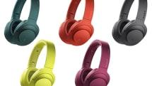 ソニーのカラフル高級ヘッドホンh.earにBluetooth版2機種が追加。無線でハイレゾ級の独自コーデックLDACにも対応