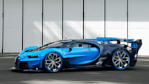 グランツーリスモ6向けコンセプトマシンを実車化、ブガッティが「Vison Gran Turismo」コンセプト発表。FIA安全基準満たすW16エンジン搭載モンスター