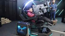 SFロボのコックピット風ゲーミングチェア Predator Thronos 発表。オーバーヘッド式3画面アーム採用