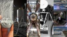 ISSにジェイソン現る・3Dプリンターで毛を生やす・月面探査車がスクラップになりかける(今週の画像ピックアップ)