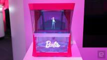 バービー人形がホログラムに! Barbie Hello HologramをMattelが発表、音声認識で会話も可能