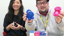 【動画】UQ、ブルームック&ピンクガチャ非売品プレゼント。青ガチャピンがキュン死でピンク化、謎設定の解説付き