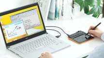 署名をPDFにそのまま書ける!LINEやOfficeにも対応した電子メモパッド『400-TBL002』