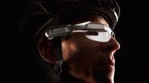 Garmin製スマートグラス『Varia Vision』。サイコンや後方確認用レーダーと連携