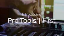 プロ向け音楽編集ソフトの無償版 Pro Tools First 発表。ハードキー不要、21種類のAAXプラグイン搭載