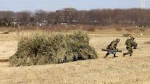 陸上自衛隊「第1空挺団 降下訓練始め」写真リポート(後編):総合演習では偽装トラックも登場