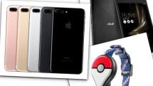 9月16日のできごとは「iPhone 7/Plus発売」「ZenPad 3 8.0(Z581KL)発売」ほか:今日は何の日?