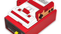 ミニファミコンと相性抜群、ディスクシステム風収納ボックスが予約開始。USBケーブルなどの収納に便利な引き出しタイプ