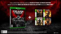 『Gears of War: Ultimate Edition』特典は過去4作のXbox 360版。後方互換でXbox One対応