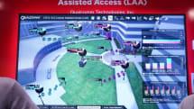 クアルコム、5GHz帯でLTEを使う LTE-U デモ。既存バンドとCAで高速化
