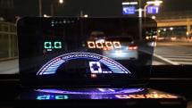 車載用5.8インチ大型ヘッドアップディスプレイが上海問屋から発売。OBD2&GPS対応で税込7999円