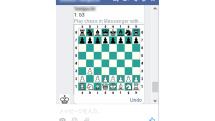 Facebook Messengerに「チェス」が楽しめる隠し機能。WEB/スマホ対応、チャット相手とプレイ可