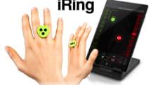 iPhone/iPad用モーションコントローラー iRing 発売、手の動きでサウンドエフェクトを操作。SDKも無償公開