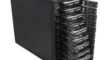 センチュリー「裸族のスカイタワー10Bay IS」発売。個別に電源オンオフできるストレージケース