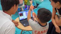 プログラミング教育とタッチ操作の意外な関係が、親子のプログラミング教室で判明:旅人目線のデジタルレポ 中山智