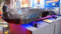 スマホ連動チャイルドシートに、スマホで開閉できるルーフボックス。カー用品もIoT化の波が来る!?:東京モーターショー2015