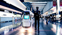 2020年、空港スタッフがロボットになるかも。ロボット警備員など羽田空港で実証実験(動画)