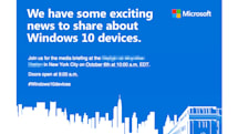 マイクロソフト、Surface Pro 4(仮)やWindows 10スマホの発表会を10月6日開催。日本時間23時から