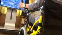 脊髄反射で不自由な足を動かす、足こぎ車椅子「COGY」。VRシステム開発し、出張試乗会開催。半身麻痺リハビリなどに