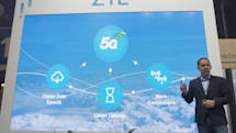 ZTE、5Gスマホ・タブレットのコンセプト機をIFA2018で展示。製品化は2019年