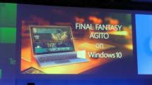 Windows 10にFFアギト移植発表、2015年内開始。DX12デモWITCHのプレイアブル展示も