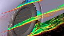 タイヤも空力設計へ 横浜ゴム、フィンを配置したエアロダイナミクスタイヤを開発