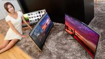 LG、世界初の34インチ曲面ウルトラワイドIPSモニタ 34UC97を公開。3440 x 1440画素