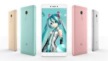 初音ミクとコラボしたスマートフォンを中国Xiaomiが発表、Redmi Note 4X限定モデル