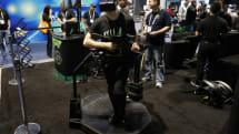 動画:ゲームの世界を自分の足で歩くVRコントローラVirtuix Omni。499ドルで4月発売、日本へも発送
