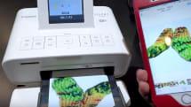 【動画】CP+2016:キヤノン『SELPHY CP1200』、スマホで写真プリント体験。専用紙付きセットは2000円引き