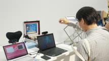 Engadget Fes:インテル「RealSense 3Dカメラ」をタッチ&トライ。表情も認識 #egfes