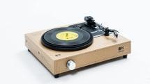 組み立て式レコードプレーヤーSPINBOXがamadanaから5月下旬発売、1万5000円