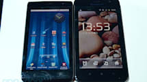Lenovo LePad S2005 vs. Dell Streak 5... cuddle!