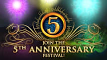 LotRO launches its Fifth Anniversary Festival
