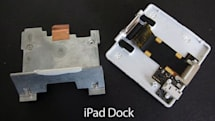 The iPad dock disassembled by iLounge