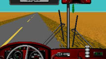 Desert Bus classic gets an iOS port, for charity's sake; AaAaAA!!! coming too
