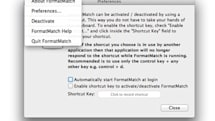 Daily Mac App: FormatMatch