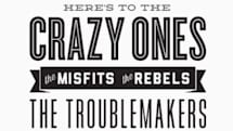 """""""Crazy Ones"""" poster being sold for charity"""