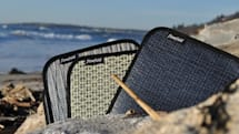 Flowfold turns scrap sailcloth and recycled plastic into an attractive iPad 2 sleeve