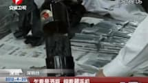 iPhones smuggled into China in beer bottles