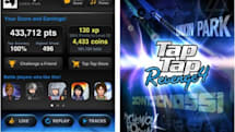 Tiesto tracks released inside Tap Tap music game