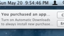 Mountain Lion update includes automatic Mac app downloads